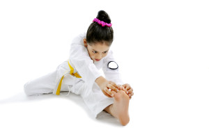 Martial Arts Builds Flexibility
